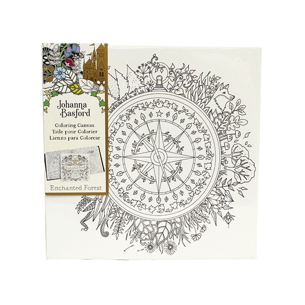 Johanna Basford Colouring In Stretched Canvas