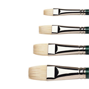 how to clean a brush after painting with oil